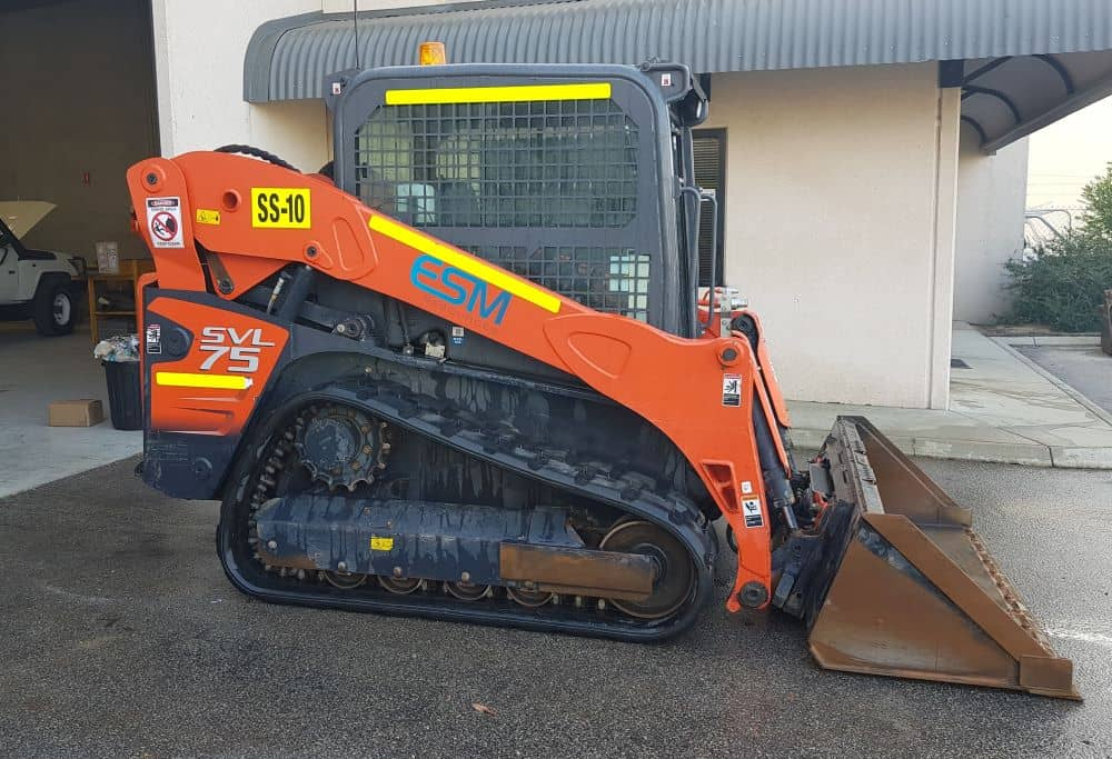 Skid steer available at ESM.